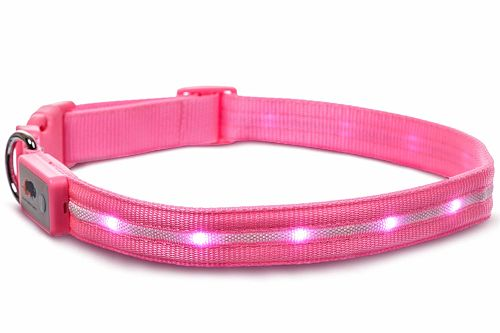 collar color rosado